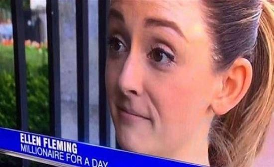الحظ يبتسم لفتاة.. أصبحت مليونيرة لـ 10 دقائق