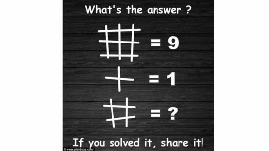بالصورة: هذه المسألة الحسابيّة حيّرت الناس... فما هي الإجابة الصحيحة؟