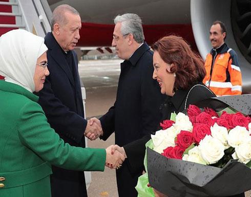 الرئيس التركي يصل باريس في زيارة تستغرق يومين