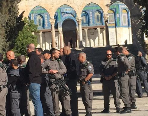 الاحتلال منع  المصلين من الجليل والمثلث من الوصول للاقصى