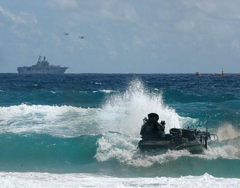 قتيل ومفقودون في حادث خلال تدريبات لمشاة البحرية الأمريكية