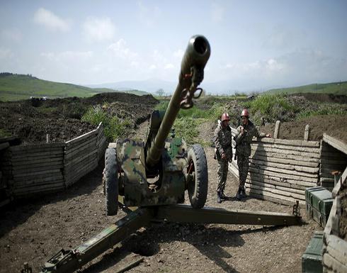 """إدارة قره باغ تعلن عن """"انسحابات تكتيكية"""" للقوات الأرمنية في بعض جوانب خط التماس"""