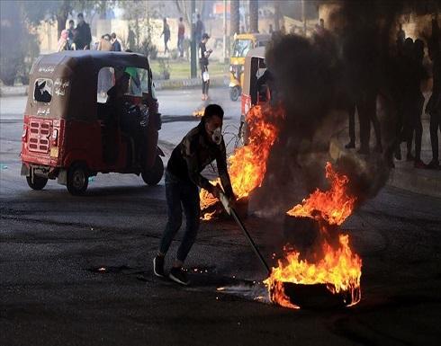 العراق.. إضرام النار بمقر فصيل مقرب من إيران