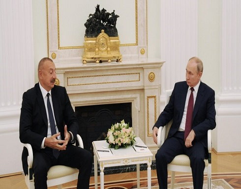بوتين يستقبل علييف في موسكو ويشكره على إيجاده حلولا توافقية لمسألة قره باغ