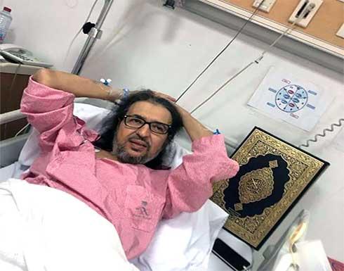 """تطورات الحالة الصحية للفنان """" خالد سامي """""""