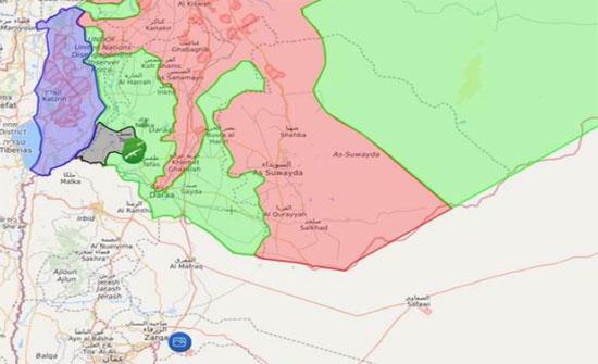اتفاق اردني أميركي روسي لتأسيس منطقة لخفض التصعيد جنوب سورية