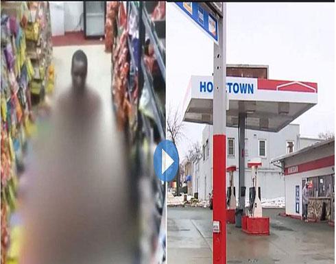 مقطع فيديو مخل داخل محطة وقود يثير ضجة واسعة في امريكا