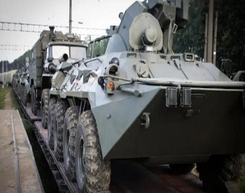 روسيا: وجود الجيش الأمريكي بأوكرانيا يفاقم التوتر على الحدود