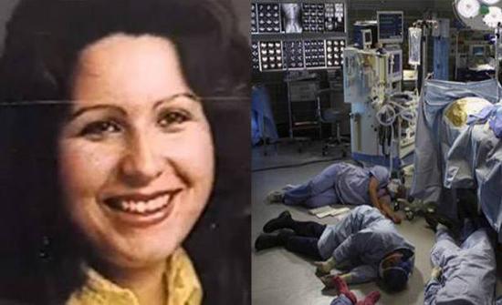 بالصور: أخطر مريضة في التاريخ... كل من اقترب لمعالجتها اصيب بالاغماء أو الشلل
