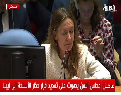 مجلس الأمن يمدد حظر الأسلحة في ليبيا