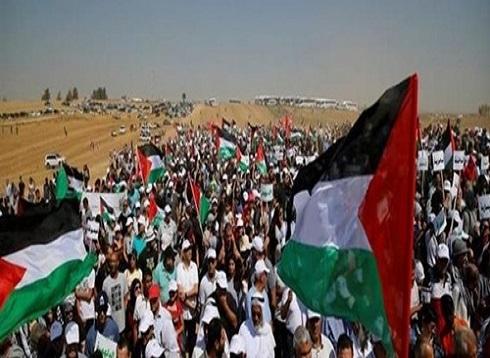 إصابة 36 فلسطينيًا في مسيرات العودة على حدود غزة