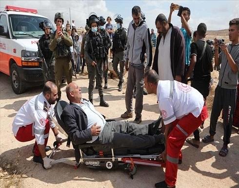 القدس.. إصابة عشرات الفلسطينيين بمواجهات مع قوات إسرائيلية