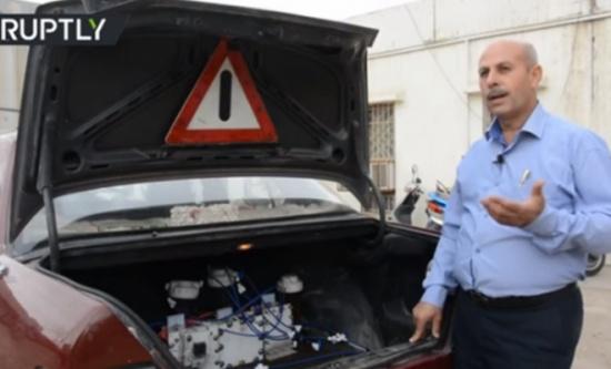 عربي يصنع سيارة تعمل بطريقة غير مألوفة !
