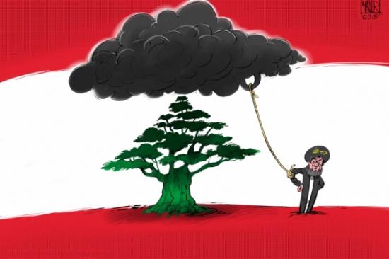 غيمة حزب الله السوداء