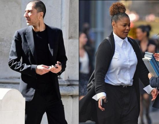 هكذا ظهر المليونير القطري وسام المانع بعد جلسة إجراءات الطلاق من جانيت جاكسون