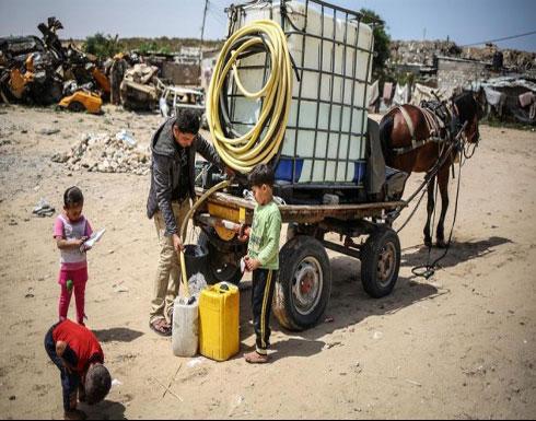 1 بالمئة هي حصّة الدول العربية من المياه العذبة بالعالم