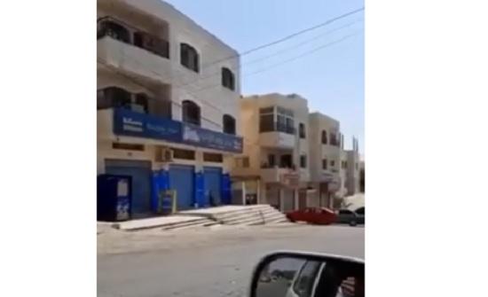 شاهد بالفيديو : اغرب حالة حظر شامل في الأردن