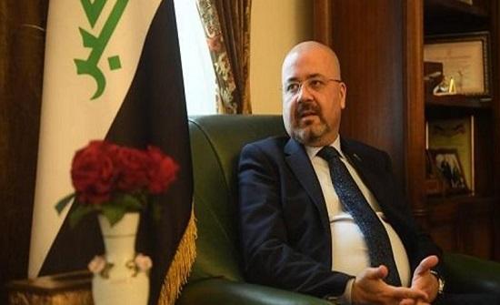 السفير العراقي يعبر عن تقديره لموافقة الأردن على فتح الحدود البرية