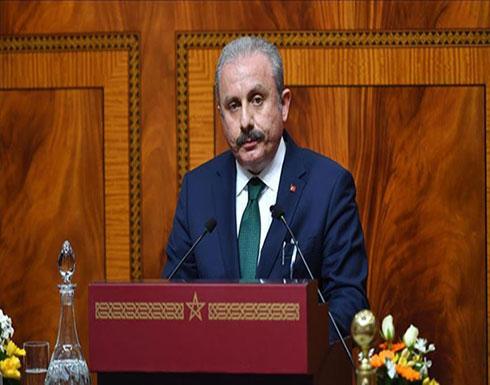 رئيس البرلمان التركي: سنرد على الهجوم الذي استهدف موظفي القنصلية بأربيل
