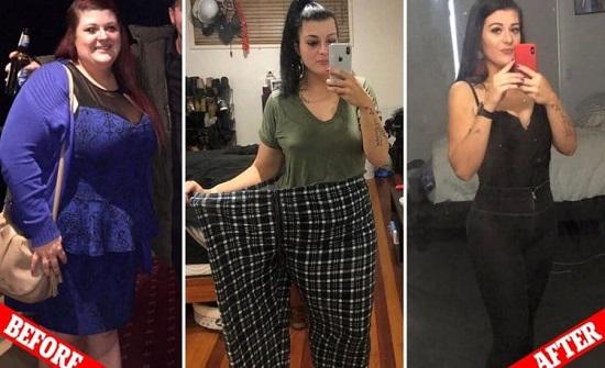بالصور:  خسرت 95 كيلو جرام من وزنها دون جراحة.. تعرف على السر