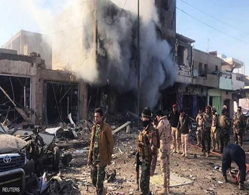 بالفيديو : قتلى في انفجار سيارة ملغومة ببلدة عراقية