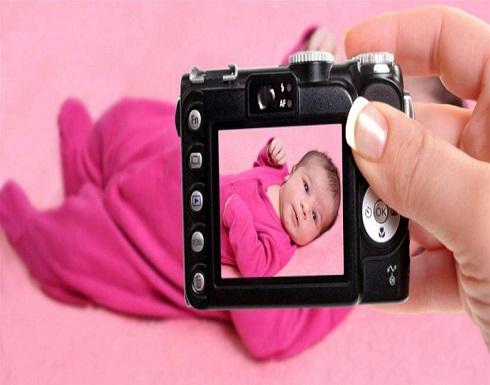 """دراسة  : """"فلاش"""" الكاميرا لا يؤثر على حديث الولادة"""