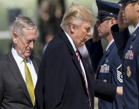 ترامب يدرس الخيارات العسكرية بشأن كوريا الشمالية
