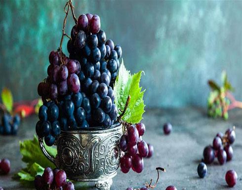 العنب مفيد للقلب والهضم