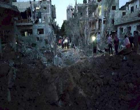 خسائر القصف الإسرائيلي على قطاع غزة تقارب 244 مليون دولار