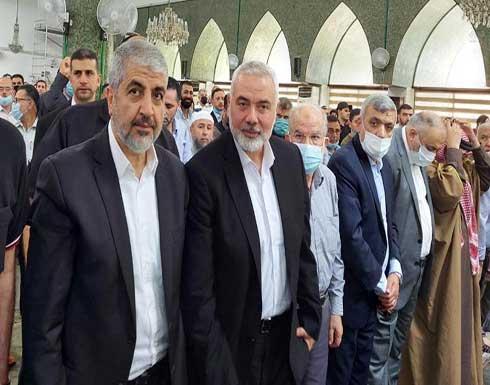 هنية ومشعل : لا للتوطين و الاردن هو الاردن و فلسطين هي فلسطين