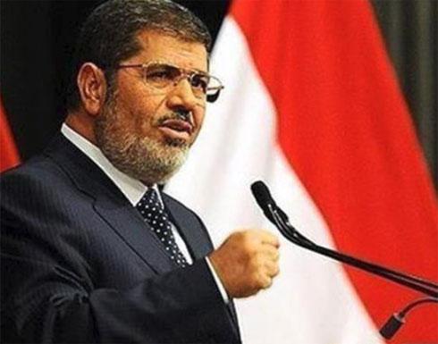 مرسي يستقبل الزيارة الثالثة في محبسه منذ الإنقلاب في 2013