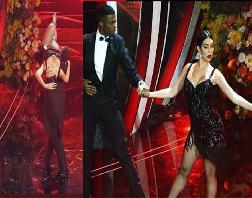 """تحت أنظار رونالدو .. جورجينا تلهب الجمهور برقصة """"التانغو"""""""