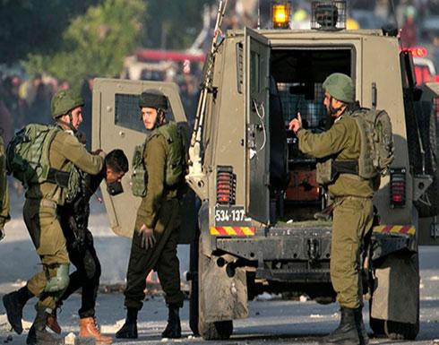 الاحتلال يعتقل 14 فلسطينيا ويصيب آخرين بالضفة والقدس (شاهد)
