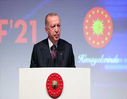 أردوغان: تركيا تحتل مكانة عالمية في الصناعات الدفاعية