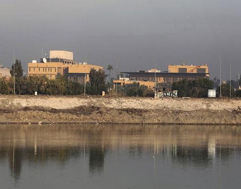 أنباء عن إصابات بالهجوم الصاروخي على سفارة أميركا ببغداد
