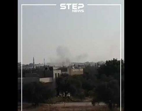 شاهد:  القصف المدفعي على قرى وبلدات ريف إدلب الجنوبي