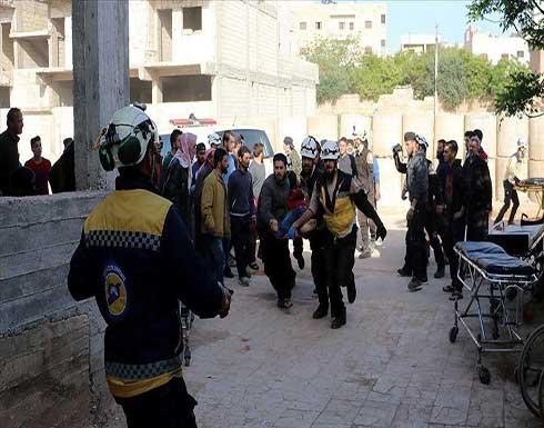 إصابة 6 مدنيين بقصف للنظام السوري وداعميه على إدلب .. بالفيديو