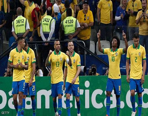 البرازيل تسحق بيرو وتبلغ دور الثمانية في كوبا أميركا
