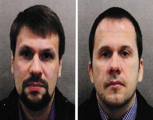 الشرطة البريطانية تنشر مقطعًا مصورًا لروسيين متهمين بتسميم الجاسوس سكريبال (فيديو)