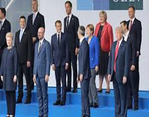 """فيديو : ترامب يوبخ الحلفاء.. ويدفع الناتو لعقد جلسة """"مغلقة"""""""