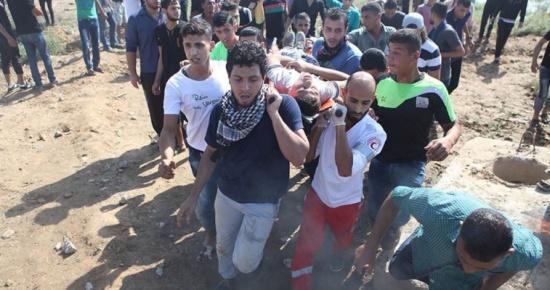 اصابة فلسطيني برصاص الاحتلال شمالي قطاع غزة