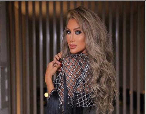 شاهد : مايا دياب باطلالة جريئة من حفلتها بالعراق