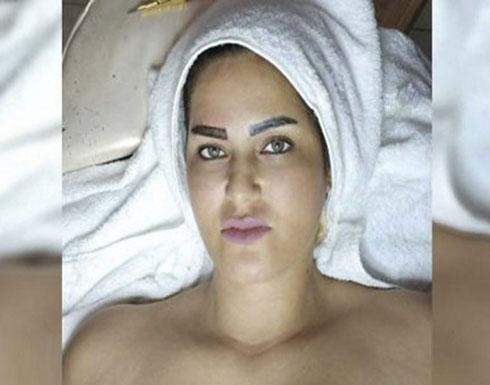 """شاهدوا.. سما المصري تضع """" تاتو البنات في وجهها"""