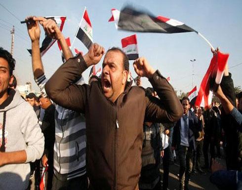 """احتجاجات في البصرة.. وقوات الأمن ترد """"بالقوة"""" (شاهد)"""