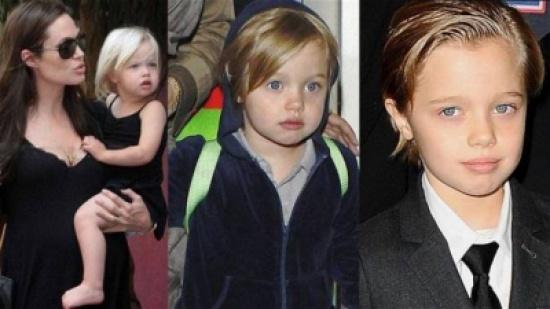ابنة براد بيت وأنجلينا جولي... قد تتحول إلى صبي!