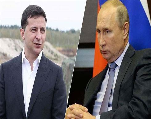 الرئيس الأوكراني يبحث مع نظيره الروسي أزمة شرق البلاد