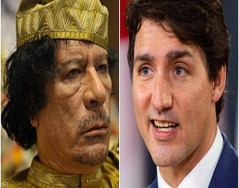 فضيحة ورشى وتهديد.. هل يطيح نجل القذافي رئيس وزراء كندا؟