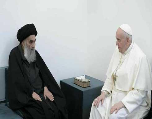 الكاظمي: البابا والسيستاني يرسمان لنا طريق الأمل في المستقبل
