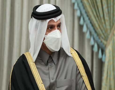 وزير الخارجية القطري يناقش مع نظيره المصري الوضع الفلسطيني