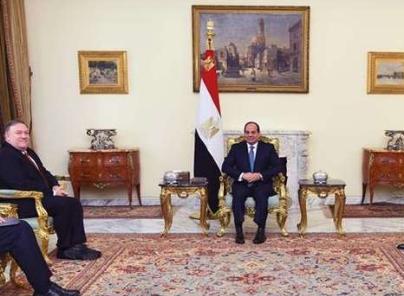 """أمريكا تهنئ مصر بـ""""الفتاح العليم"""" و""""ميلاد المسيح"""""""